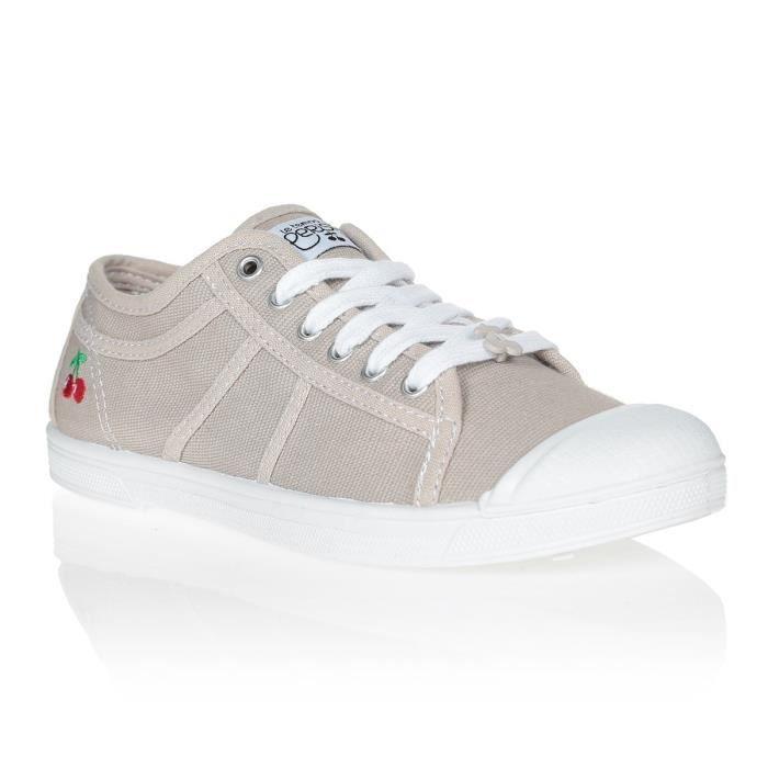 LE TEMPS DES CERISES Chaussures Basic 02 Perle Gris/Blanc Femme