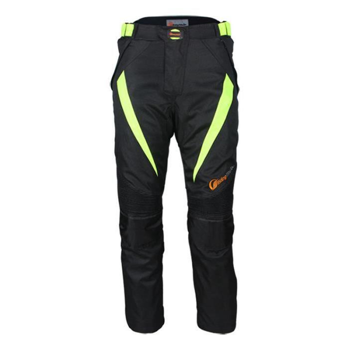 Pantalon de moto d'été unisexe anti-chute imperméable de cyclisme course racing