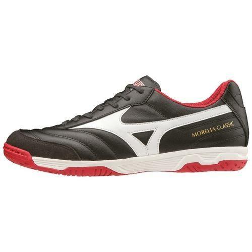 Chaussures de football Mizuno Morelia sala classic indoor - noir/blanc/rouge - 42