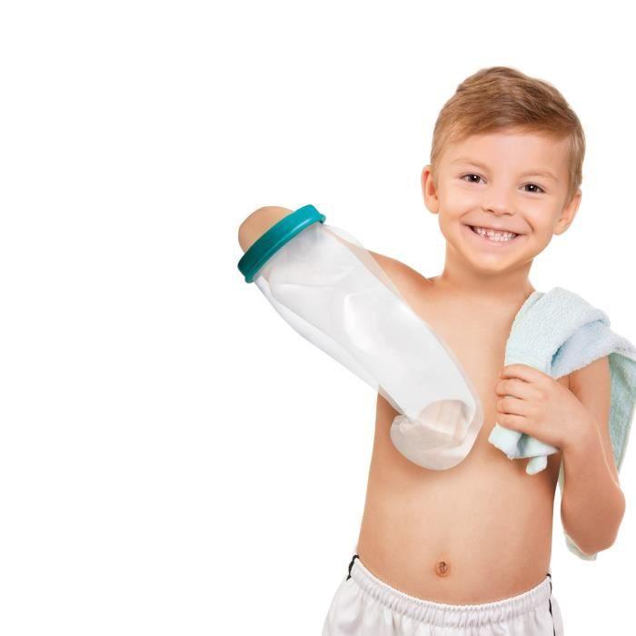 Housse Protect douche avant bras Enfant Mixte NOVOLIFE NL-12120 - Etanche - Protection pour plâtre en polypropylène