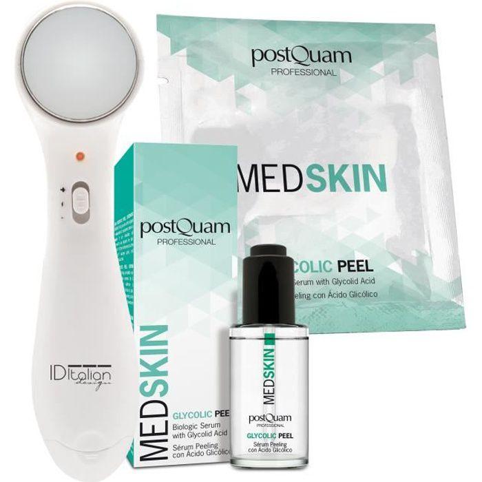 PACK Soin du Visage à l'Acide Glycolique : Sérum Biologique + Patch Biologique + Masseur Facial Anti-rides Gratuit - POSTQUAM