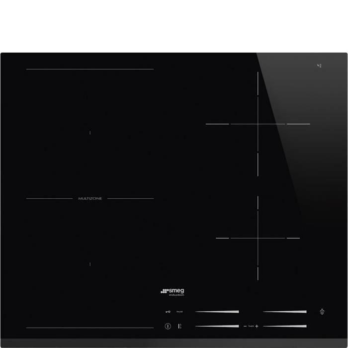 Smeg SI1M7643B, Intégré, Plaque avec zone à induction, Verre-céramique, Noir, 2500 W, 14,5 cm