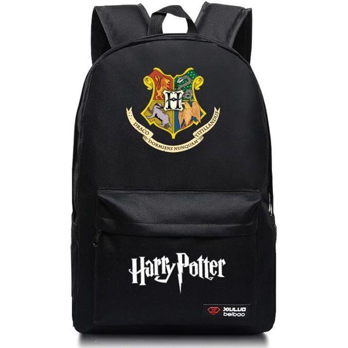 MOBIGARLAN Sac à Dos - Sac d'École cartable étudiant Harry Potter imprimé pour enfant adolescent modèle 06