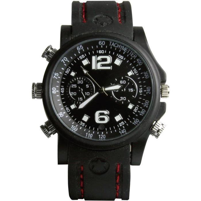 Caméra de surveillance espion en forme de montre-bracelet Technaxx 176810 8 Go 640 x 480 pixels