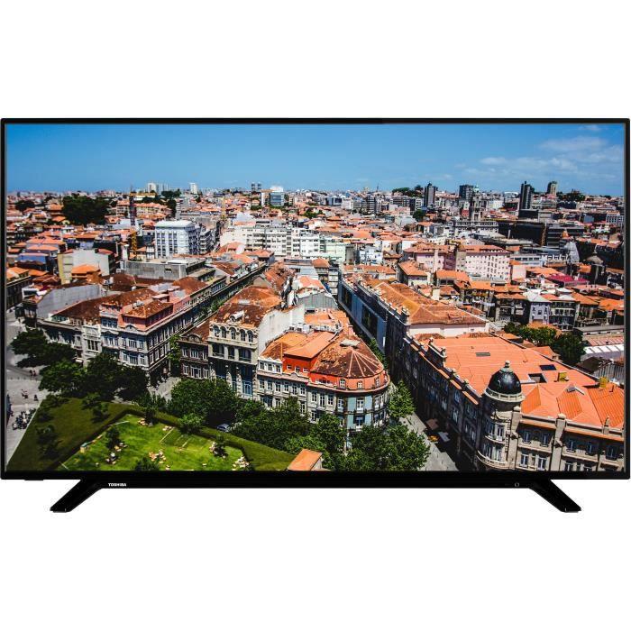 TOSHIBA 55U2963DG TV LED 4K UHD - 55'' (139cm) - Dolby Vision - HDR10 - Smart TV - 3 x HDMI - 2 x USB - Classe énergétique A+
