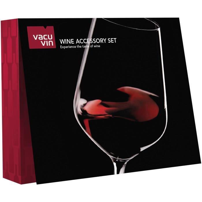 VACU VIN Coffret sommelier 6 accessoires