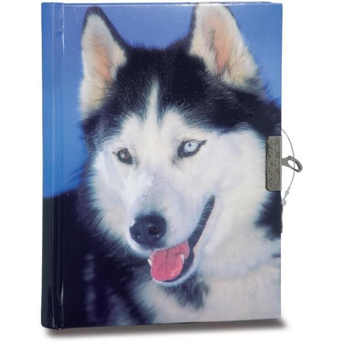 journal intime animal chien husky achat vente journal intime journal intime animal chien. Black Bedroom Furniture Sets. Home Design Ideas