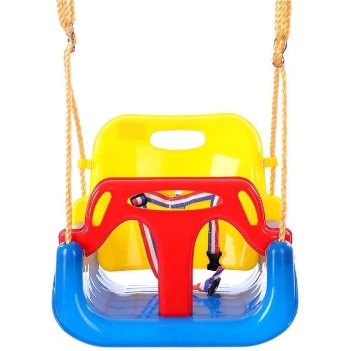 Enfants balançoire siège enfants balançoire en plastique ensemble de loisirs