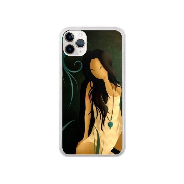 Coque iPhone 11 Pro Femme Indienne Pocahontas - Lo