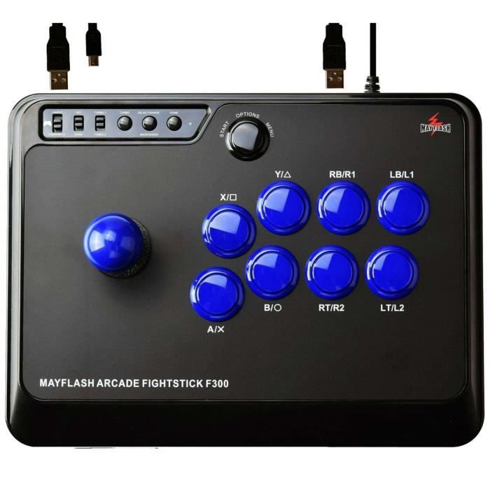 ADAPTATEUR MANETTE Stick arcade PS4 XBOX ONE PC