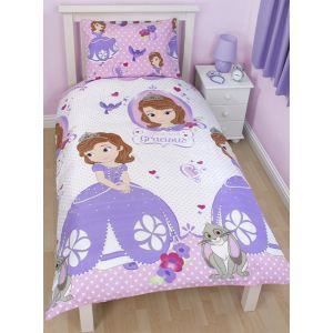 disney princesse sofia housse de couette par achat vente parure de couette cdiscount. Black Bedroom Furniture Sets. Home Design Ideas