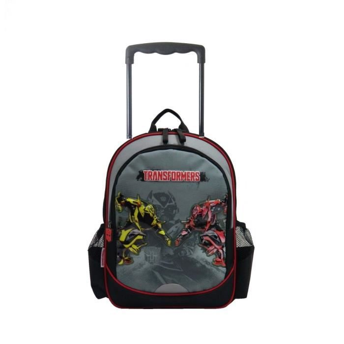transformers sac dos roulettes scolaire cole enfant gar on cartable trolley disney achat. Black Bedroom Furniture Sets. Home Design Ideas