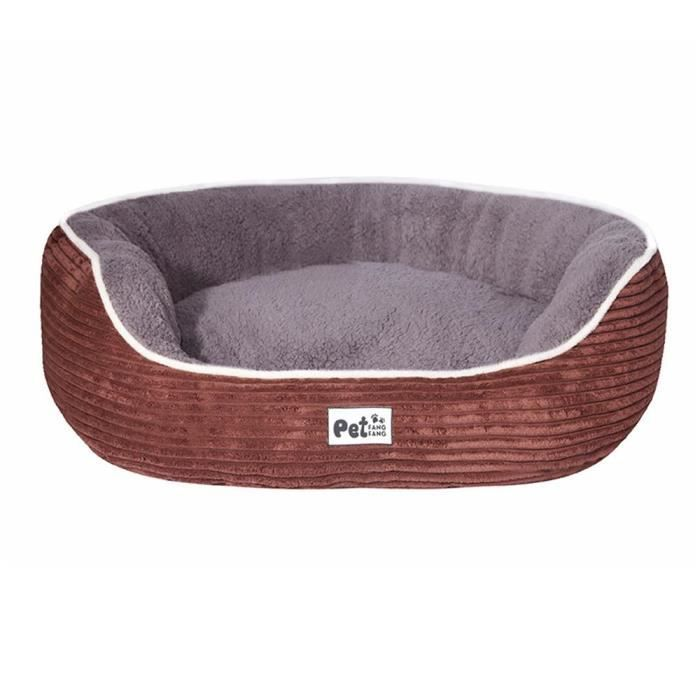 Mogoi Nid Du Chien Chat Lit Animal Doux 45x40x15cm Marron