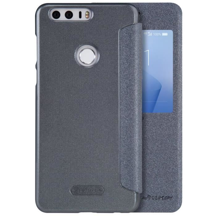 Housse tui pour huawei honor 8 2016 flip cover folio for Housse honor 8