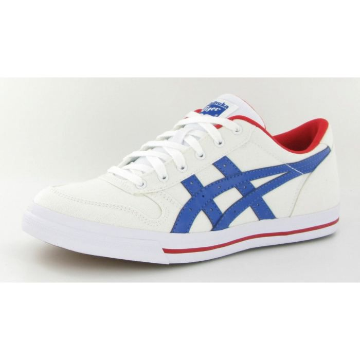 Chaussures Asics Aaron Canvas Blanc Blanc - Cdiscount Chaussures