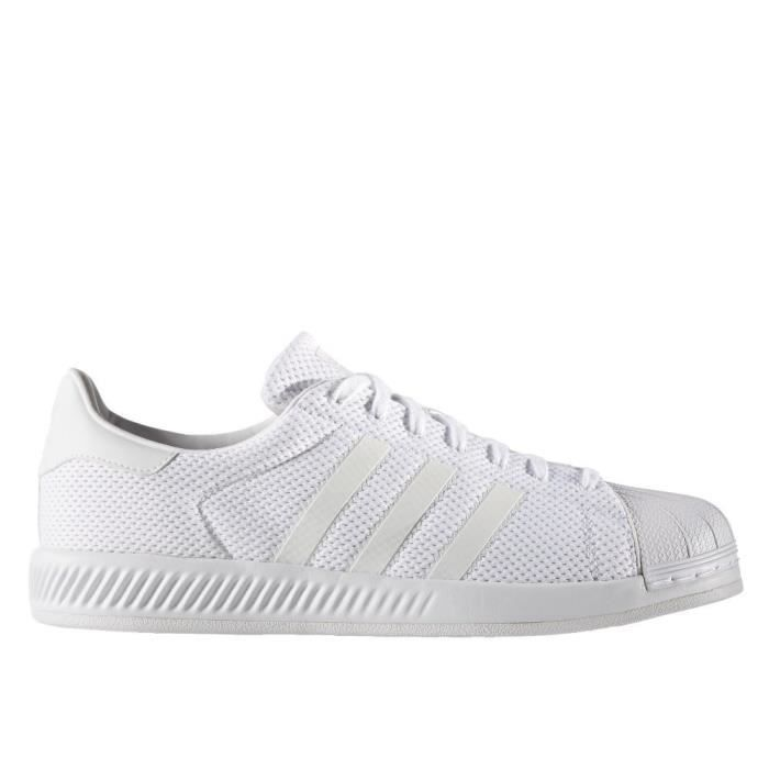 Chaussures Adidas Superstar Bounce White