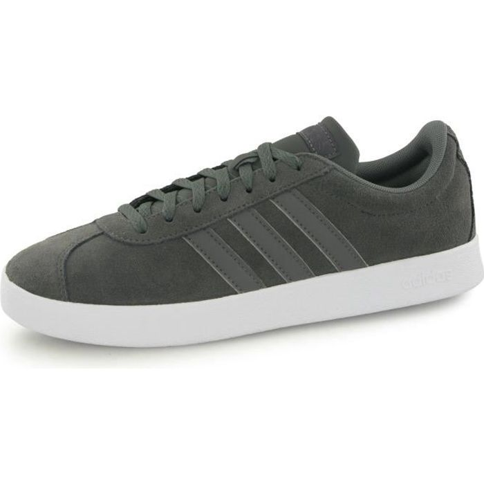 adidas Originals VL COURT 2.0 Chaussures Mode Cuir Suede Sneakers Homme