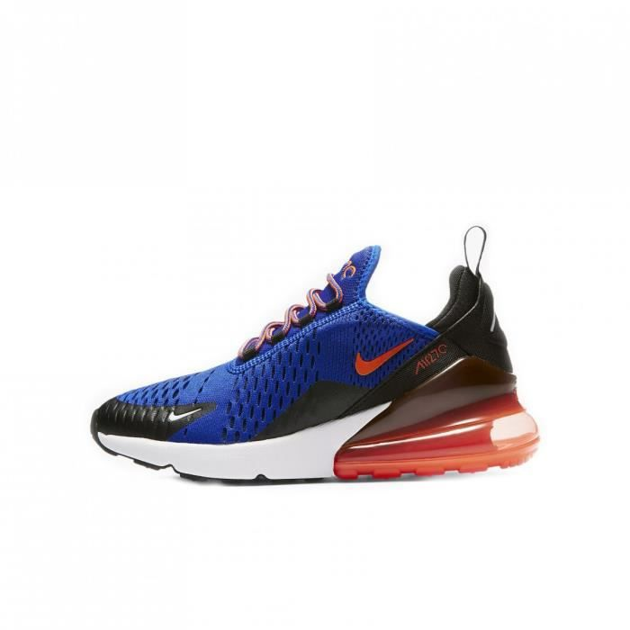 Basket Nike Air Max 270 Junior 943345 401 Bleu Bleu