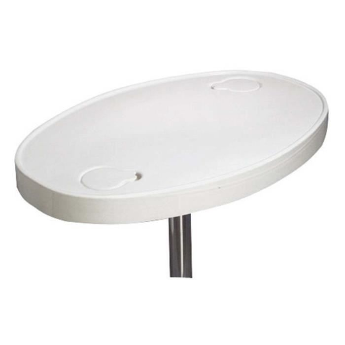 Plateau de table en abs ovale achat vente table a for Plateau table ovale