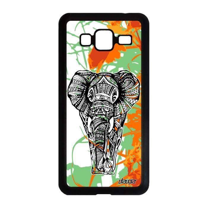 Coque Samsung Galaxy J3 2016 silicone elephant des