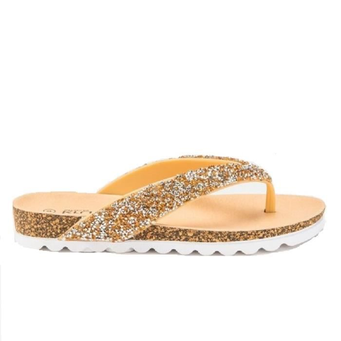 3 3midyi 8 5 Taille 4 Size 7 Women's Flip 6 Beach Flop Glitter 37 Post Sandals Toe qAfT86
