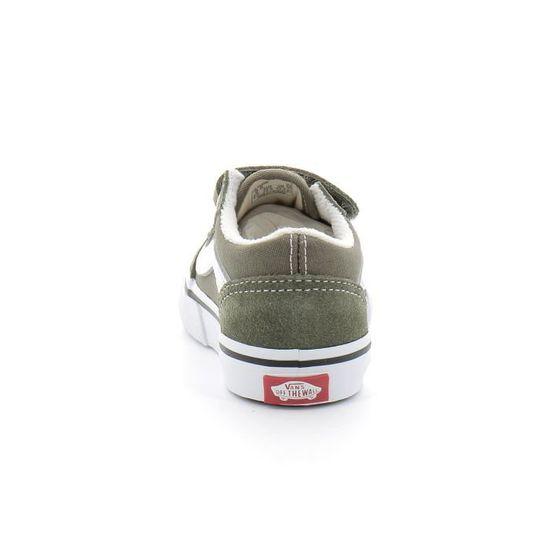 Basket - vans old school enfant Kaki Kaki - Cdiscount Chaussures