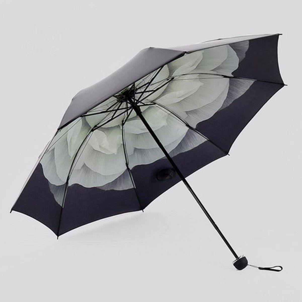 Parapluie Pliable Blanc Blanc 105 cm