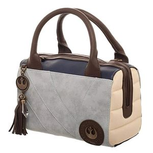 CARTABLE Cartable UZUSC Star Wars Rey Canvas and PU Leather