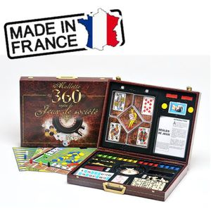 MALLETTE MULTI-JEUX Ferriot Cric Mallette 360 jeux