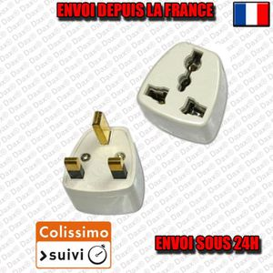 ADAPTATEUR DE VOYAGE Ac Adapter Outlet FR France BE US worms England UK