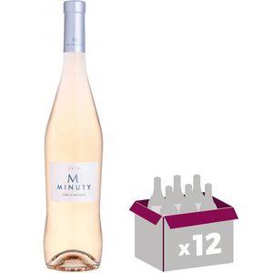VIN ROSÉ 12X M de Minuty 2016 Rosé 75cl AOC Côtes de Proven