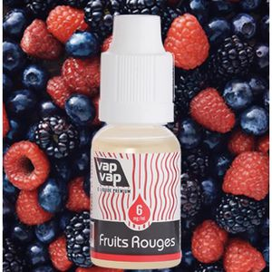 LIQUIDE 20ml E.Liquid France Fruits Rouge 6mg nicotine