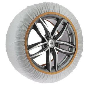 certifi/ées T/ÜV//GS et /ÖNORM Michelin 92340 Chaussettes /à neige Easy Grip K15 2 pi/èces compatibles ABS et ESP