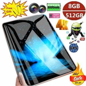 TABLETTE TACTILE 2020 Tablette PC Android 9.0 Arge 2560*1600 écran