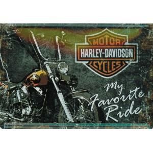 Decoration harley davidson for Plaque murale decorative