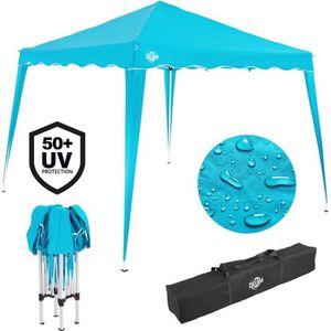 TONNELLE - BARNUM Tente pavillon de jardin 3x3 mètres Bleu clair …