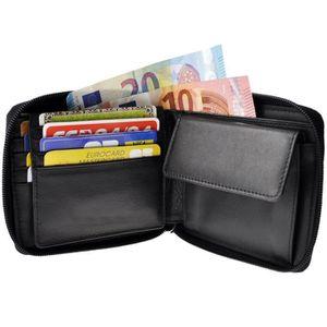 2 coul. FRANCINEL Porte carte d/'identité petit porte feuille en cuir réf 47976