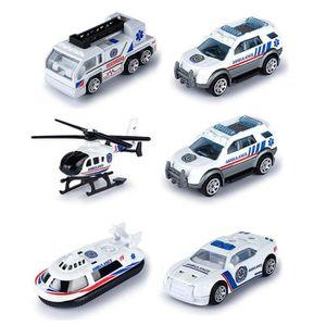 CAMION ENFANT EFUTURE 1:64 Ambulance médicale en alliage jouet v