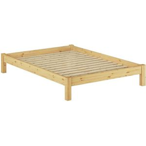 STRUCTURE DE LIT 60.35-14 Lit futon pin massif naturel, design mode