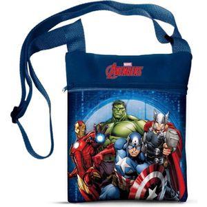 SAC À GOUTER Sac Bandouillère Avengers Disney Besace