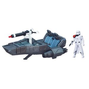 FIGURINE - PERSONNAGE Véhicule Medium Star Wars avec figurine : Snowspee