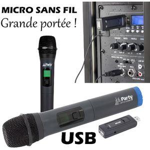PACK SONO SONO Micro main sans fil avec écran digital UHF vi