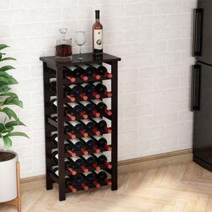 MEUBLE RANGE BOUTEILLE Étagère à vin LANGRIA Meuble range bouteille - 28