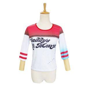 DÉGUISEMENT - PANOPLIE T-shirt Femme Déguisement Suicide Squad Harley Qui
