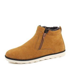 BOTTINE Nouveaux Chaussures Bottes d'homme hiver d'homme e