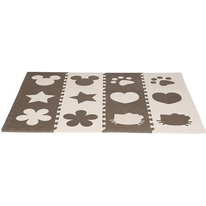 12 pièces Tapis pour Enfants Bébé - B.LIVEM® Puzzle Tapis en mousse EVA haut de gamme
