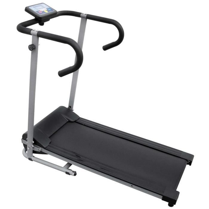 Tapis roulant électrique 100 x 34 cm avec écran LCD de 3- 500 W