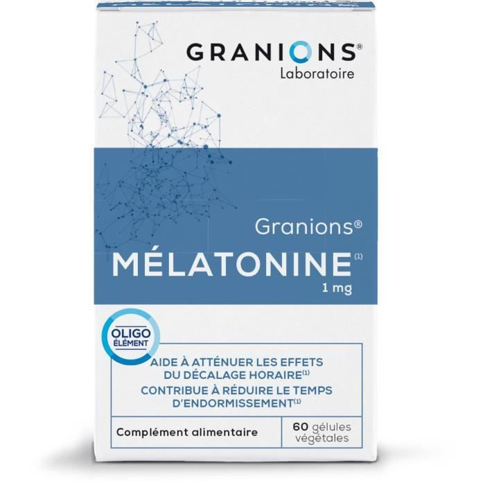 GRANIONS® MELATONINE (BTE 60 GÉLULES)