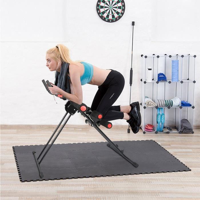 Appareil abdominal-Fitness Power AB Entraîneur-Pliable