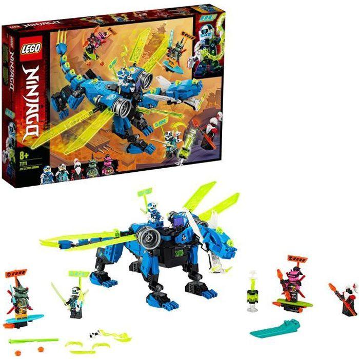 LEGO® NINJAGO® 71711 Le Cyber Dragon de Jay